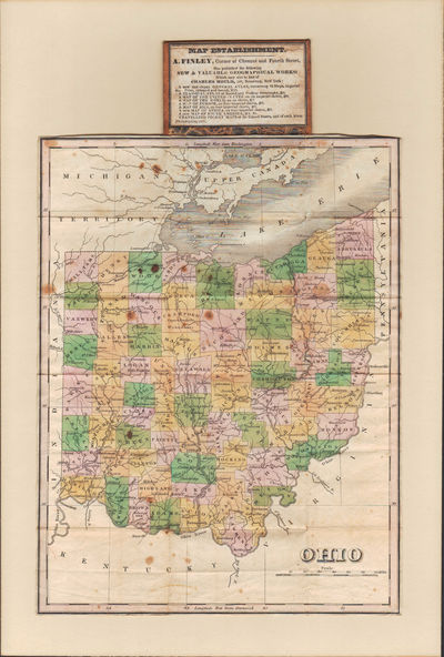 Image for Travelling Pocket Map of Ohio.