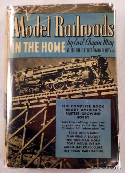 Model Railroads in the Home, May, Earl Chapin