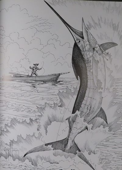 Image for Santiago's Finest Hour A Special Edition Illustrated By Guy Harvey; Drawings Inspired by Ernest Hemmingway's The Old Man and The Sea.