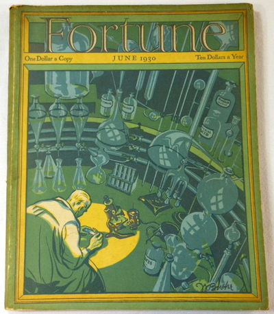 Fortune Magazine. June 1930. Volume I, Number 5, Fortune Magazine. Edited By Henry R. Luce