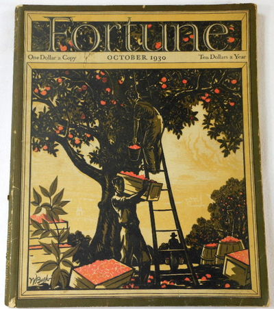 Fortune Magazine. October 1930. Volume II, Number 4, Fortune Magazine. Edited By Henry R. Luce