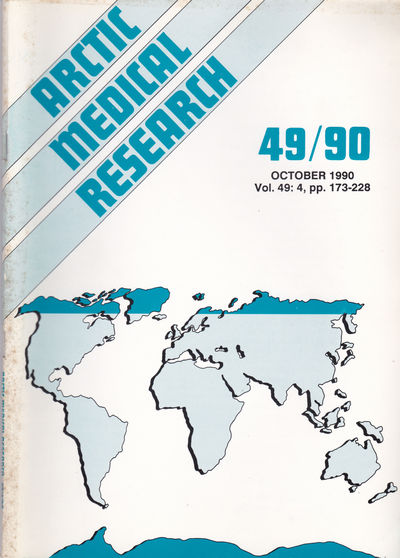 ARCTIC MEDICAL  RESEARCH. Vol. 49, No. 4, October 1990., Hansen, J. P. Hart; Harvald, Bent; editors.