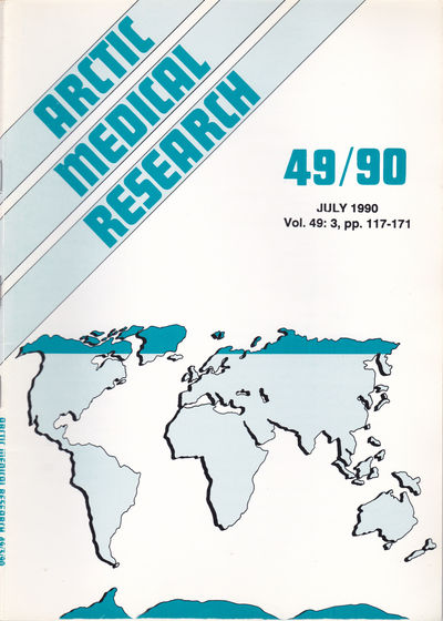 ARCTIC MEDICAL  RESEARCH. Vol. 49, No. 3, July 1990., Hansen, J. P. Hart; Harvald, Bent; editors.