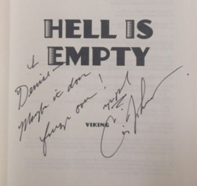Hell is Empty, Johnson, Craig