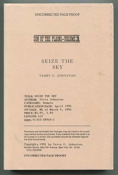 Seize the Sky Son of the Plains (Son of the Plains, Volume 2), Johnston, Terry C