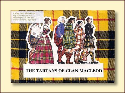The Tartans of Clan MacLeod, Macloed, Ruairidh H.