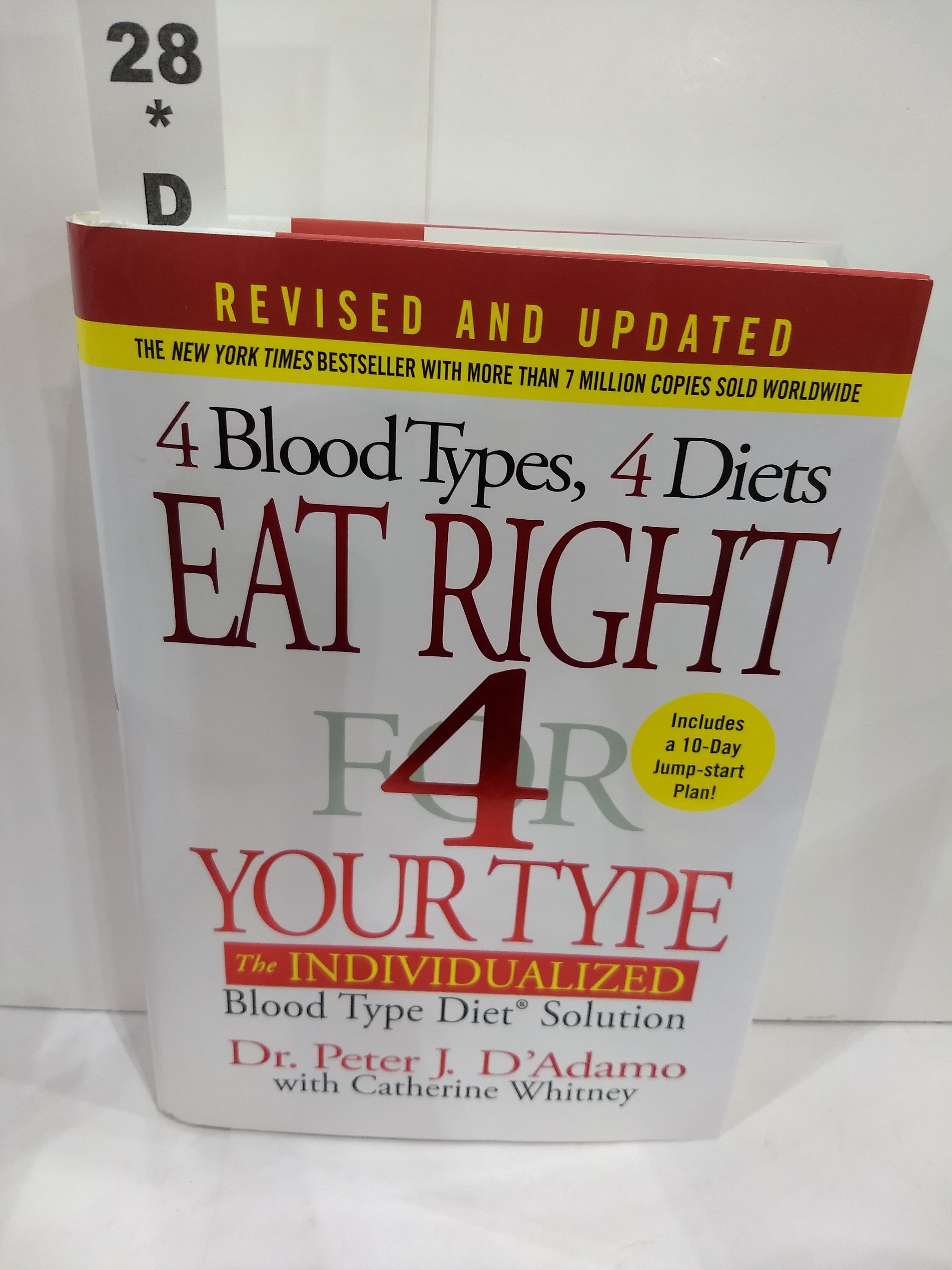 Image for Eat Right 4 Your Type (Revised and Updated) : the Individualized Diet Solution